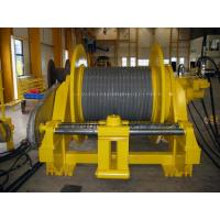 Quality Double Folded Wire Rope Drum Cable Reel With Rope Line Device ISO BV CE Standard for sale