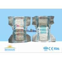 China Safest Disposable Diapers For Babies , All Natural Diapers With Velco Tape on sale