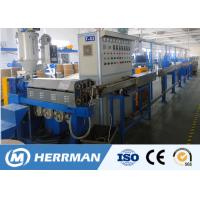 Quality 1000m / Min Line Speed Pvc Cable Extruder Machine For 1.5-16mm2 WIth PLC Control for sale