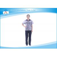 China Man / Woman Durable Workwear Staff Uniforms Apparel of TC or Cotton on sale
