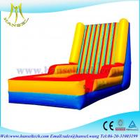 Quality Hansel hot sale inflatable velcro wall, Cheap inflatable bouncer stick wall for sale for sale