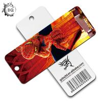 Quality PET Plastic Printing Service , Custom pattern 3d Lenticular Bookmarks for sale