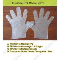 Quality Hot Sell Disposable TPE Medical Glove (LY-PG-004) for sale