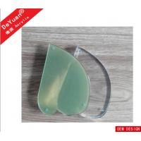 China Magnetic Clear Heart Shape Plexiglass / Organic Glass Picture Frame Eco - Friendly on sale
