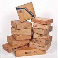 Quality Double Wall Cardboard Boxes , Custom Sized Cardboard Mailing Boxes for sale