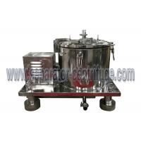 China Dry Material Dip in Ethanol and Dewater by High Speed Centrifuge for Essential Oil Process on sale