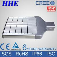 Quality LED Driver MeanWell Cree LED Street Light 120W IP66 for garden / pathway for sale