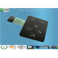 Quality 3D Square Keys Embossing Membrane Switch With ChangJiang Brand Female 2.54, 4 Pin Connectors for sale