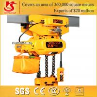 Quality Fast speed easy operation competitive price electric 1-25t chain hoist lifting block for sale