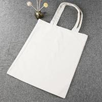 Quality Handheld Style Reusable Canvas Bags , Personalized Canvas Tote Bags for sale