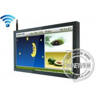 China 55 inch TFT Wifi Digital Signage , 1500:1 Network LCD Advertising Players on sale