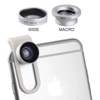 China 0.65X Wide Angle lens + Macro lens Clip-on Universal Mobile Phone Camera Lenses For iPhone iPad Samsung Sony LG Xiaomi on sale