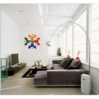 Quality 2012 New Design Vinyl Wall Sticker Clock 10A053 Flower Wall Decoration for sale
