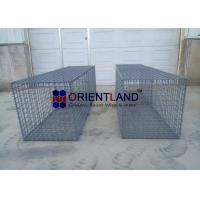 Quality Rock Wall Welded Mesh Gabions , Wire Steel Mesh Wire Baskets Retaining Wall for sale