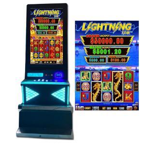 "Quality SGS Dragon Theme Cash Coaster  Casino Slot Game Machine 43"" Screen for sale"