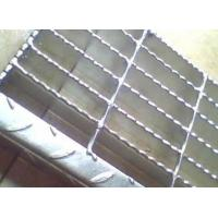 Quality Sliver Galvanized Serrated Grating Bearing Bar Spacing Optional / Customized for sale
