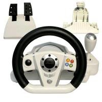 China XBOXONE / Playstation3 Steering Wheel With 270 Degree Rotation Angle on sale