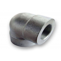 Buy cheap ASME B16.11 A350LF2 CL1 9000# Threaded NPT Sw Elbow from wholesalers