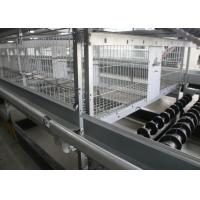 Quality Poultry Farm A Frame Layer Cages 1200×625×480 Mm Q235 Standard Steel Material for sale