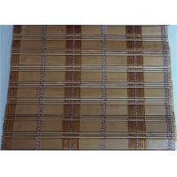 Quality Horizontal Bamboo Window Blinds , Modern Bamboo Roll Up Curtains for sale