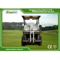 Buy Green 6 Passenger Electric Golf Carts Charging Time 8-10 Hours Steel Chassis at wholesale prices