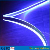 Buy cheap Double-sided neon flex light 8*18mm mini size LED neonflex strip ribbon 24v blue color from wholesalers