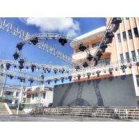 Quality Aluminum Stage Circular Lighting Truss For Parties , Long Work Life Times for sale