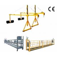 Quality High Working Suspended Platform Cradle Scaffold Systems Building Cleaning for sale