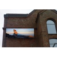 Quality Enerage saving 16mm outdoor RGB full color PAL / NTSC led video sign Rental for sale