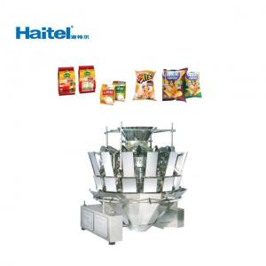 Quality Puffed Food Potato Chips Weighing Packaging Machine 60bags/Min for sale