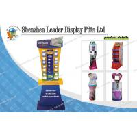 Buy cheap Free Standing Portable Promotional Cosmetic Carton Displays For Mildy Wash from wholesalers