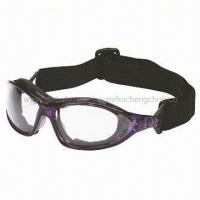 China Safety Goggles with Choices of Headband or Arms, CE and ANSI Approved on sale
