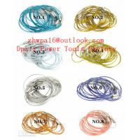 Quality Stainless Steel Wire keychain Cable Key Ring Twist Barrel for sale