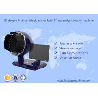 China 3d Deeply Analyzer Home Use Beauty Device Black Color 1 Year Warranty on sale