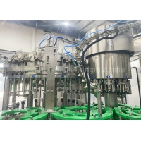 Quality 8000BPH 7.57kw Aluminum Carbonated Drink Filling Machine For Beverage for sale