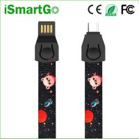 China Fashion USB C Data Sync Charge Cable Tape Measure Phone Lanyard on sale