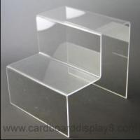 Buy cheap Tierd Acrylic Display For Cosmetics Displays With Custom Design And Printing from wholesalers