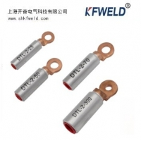China DTL-2 Bimetallic Copper Aluminum Cable Lug, aluminium copper tubular terminals bimetallic cable lug for wire connection on sale