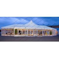 Buy cheap Custom Made Mixed High Peak Wedding Party PVC Tent For 500 Person capacity Event from wholesalers