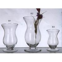 Quality mini coloured glass candle holder for wedding for sale