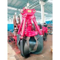 Quality Rotating Logging Grapple Attachment For Excavator Grab Material And Rock for sale