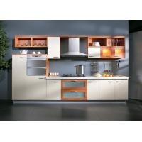Best Assembled UV Kitchen Cabinet With Wall Mounted Cupboards And Range Hood wholesale