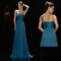 China One-Shoulder Christmas Evening Dress (LP074) on sale