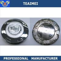 Best Colored Crest 200mm Chrome Cadillac Escalade Alloy Auto Wheel Center Caps wholesale