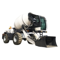 Buy cheap self loading concrete mixer truck H2500A (2.5 m³, articulated chassis) from wholesalers