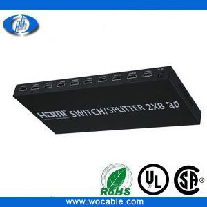 China Hdmi 2x8 distribution amplifier splitter Full HD 1080P on sale
