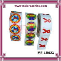 Best Custom self-adhesive printing roll sticker/Printed labels colorful print vinyl sticker ME-LB023 wholesale