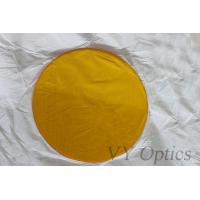 China BK7 optical yellow filter for camera filter from China on sale