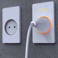 Quality 1 Gang Wall Telephone Socket for sale