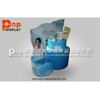 Quality Blue Standing Corrugated Cardboard Display / Pallet Display With Longlasting Printing for sale